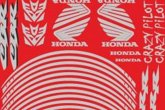 наклейки на мотоцикл Honda vinil52.ru